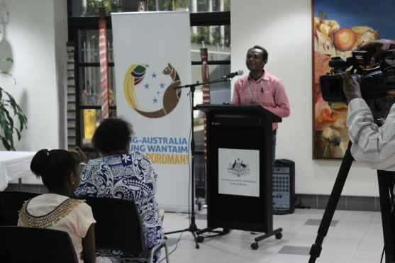 Martyn Namorong, a member of the Voluntary Organising Committee was the Master of Ceremony for the evening