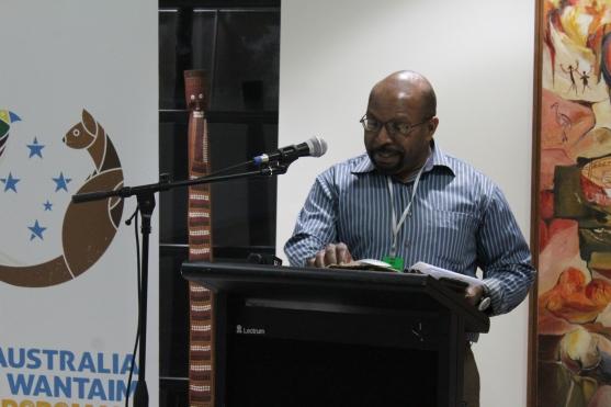 John Kamasua, the Winner of the Essays and Journalism Category