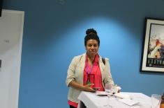 Michelle Nilkare representing CIMC