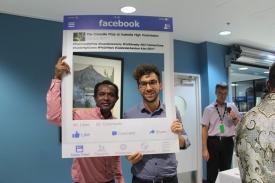 Martyn Namorong and Ben Jackson